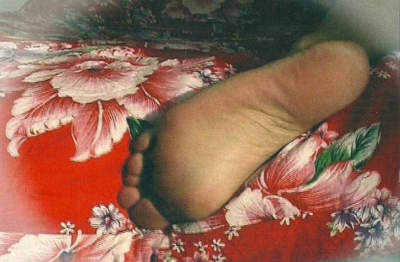 Pdc 30 eros Flower Foot de Hsia Fei Chang. Vidéo 2005. Artsénat. Exposition mai-sept 2006. IMG_5535 - copie 2