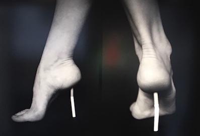 Manolo L. Talons cigarette