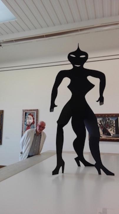 A. Calder et Eric Moinat