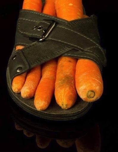 Carotte en pied
