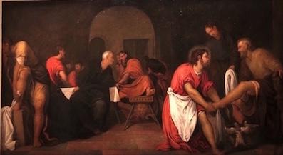 Tintoret Le Lavement des pieds vers 1539 huile sur toile 149 x 264 cm Grenoble  Musée de Grenoble